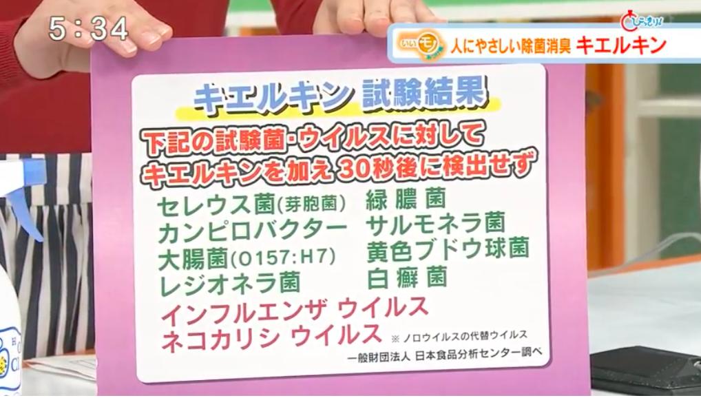 テレビメディアキエルキン10
